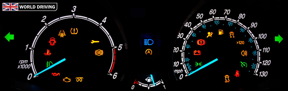 Dashboard Warning Lights And Indicators Ford Fiesta