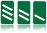 Dual carriageways countdown markers